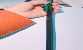 Băng dính xốp hai mặt dùng dán kính mặt dựng